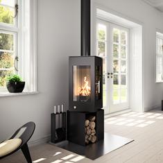 houtkachels tibas houtkachel attika q bic draaibaar tibas haarden kachels. Black Bedroom Furniture Sets. Home Design Ideas