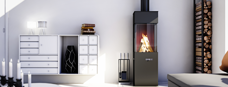 tibas houtkachel attika qbic tibas haarden kachels. Black Bedroom Furniture Sets. Home Design Ideas