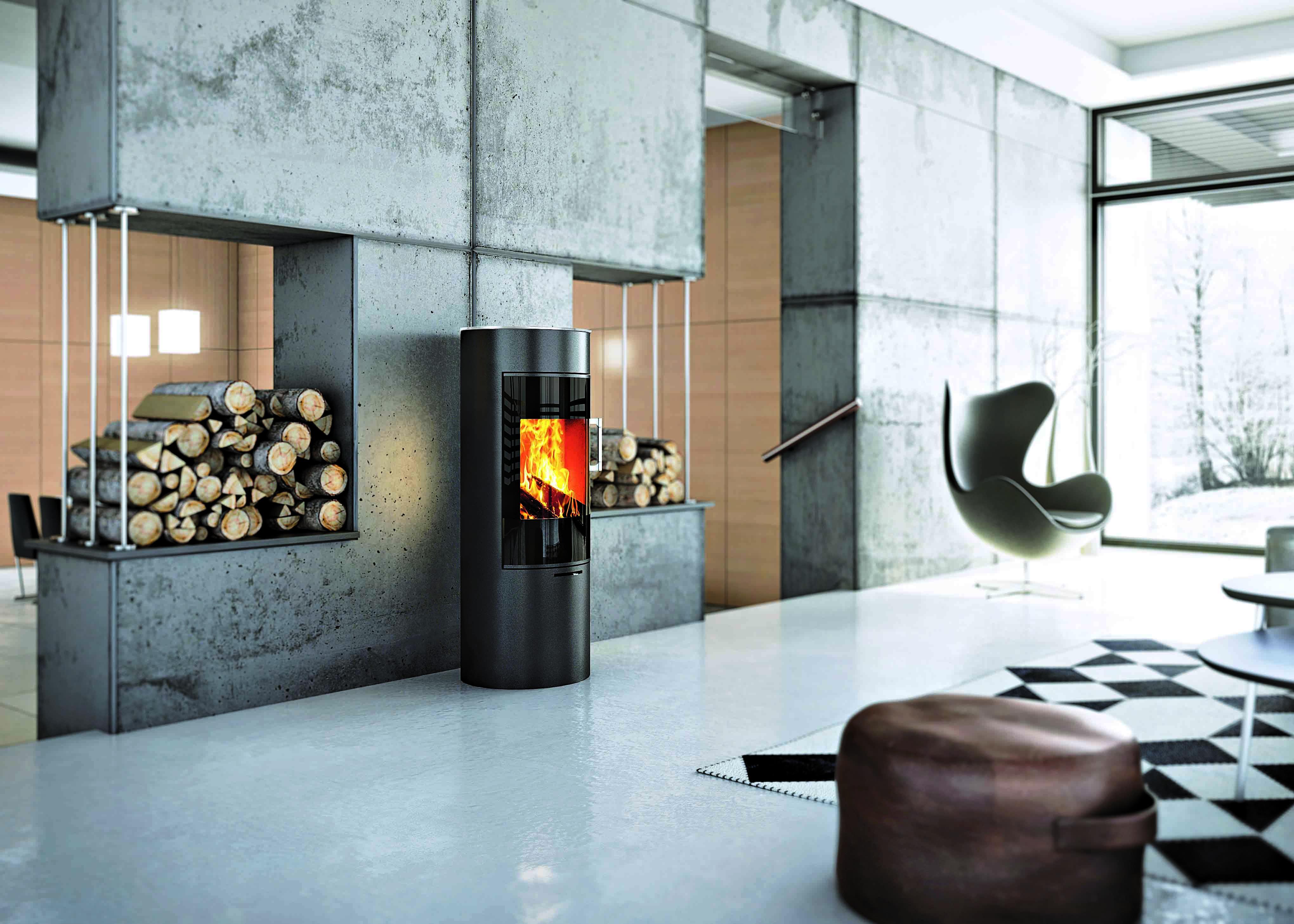cleverair voor zorgeloos houtstoken met de attika kachels. Black Bedroom Furniture Sets. Home Design Ideas